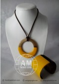 Lacquer Horn Necklace (30)